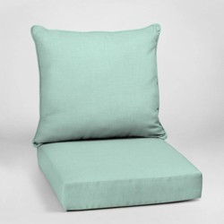 Leala Texture Deep Seat Outdoor Cushion Set - Arden Selections