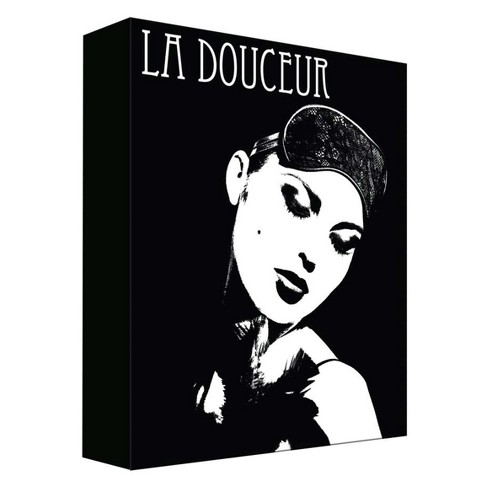 "La Douceur Decorative Canvas Wall Art 11""x14"" - PTM Images - image 1 of 1"