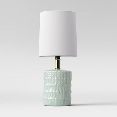 Ceramic Mini Table Lamp Mint (Includes CFL Light Bulb)- Opalhouse™