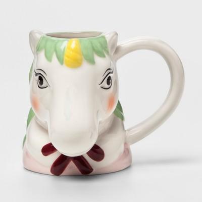 7.5oz Earthenware Unicorn Mug - Room Essentials™