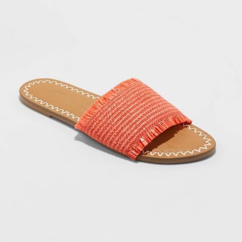 Women's Luciana Woven Slide Sandals - Universal Thread™ - image 1 of 3