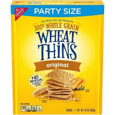 Wheat Thins Party Size - 20oz