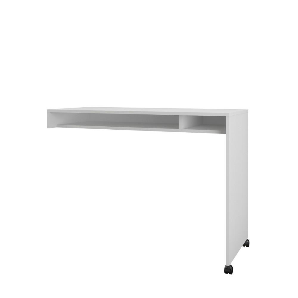 Essentials Reversible Desk Panel - White - Nexera