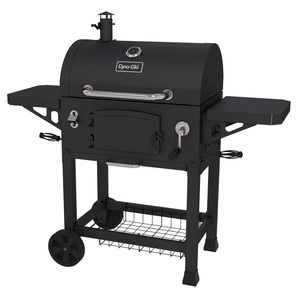 Dyna-Glo Heavy Duty Charcoal Grill, Black 50026244