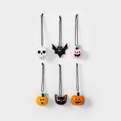 6pk Resin Halloween Ornaments - Hyde & EEK! Boutique™