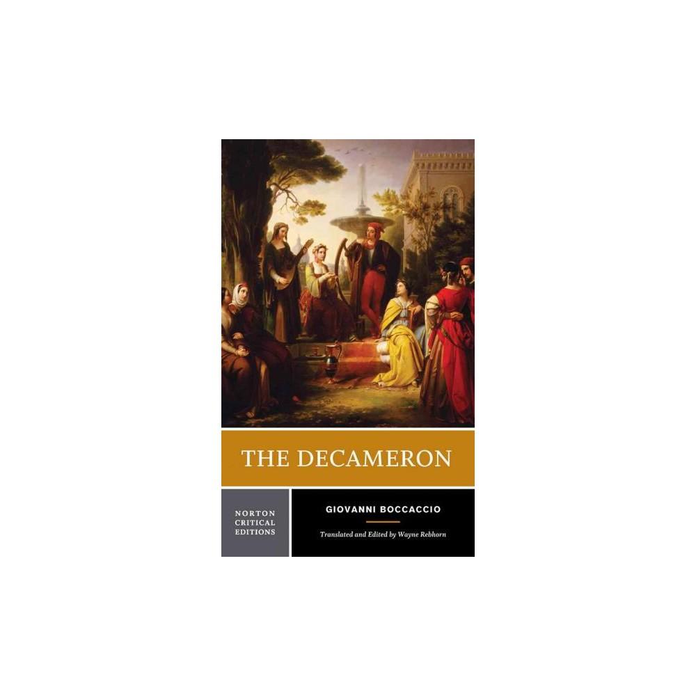 Decameron (Critical) (Paperback) (Giovanni Boccaccio)