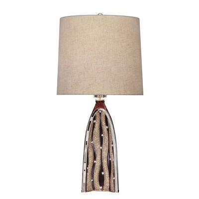 OK Lighting Sunset Ripples Table Lamp
