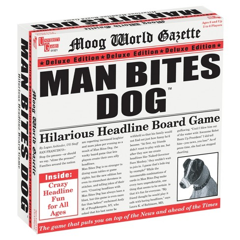 University Games Man Bites Dog Deluxe Edition