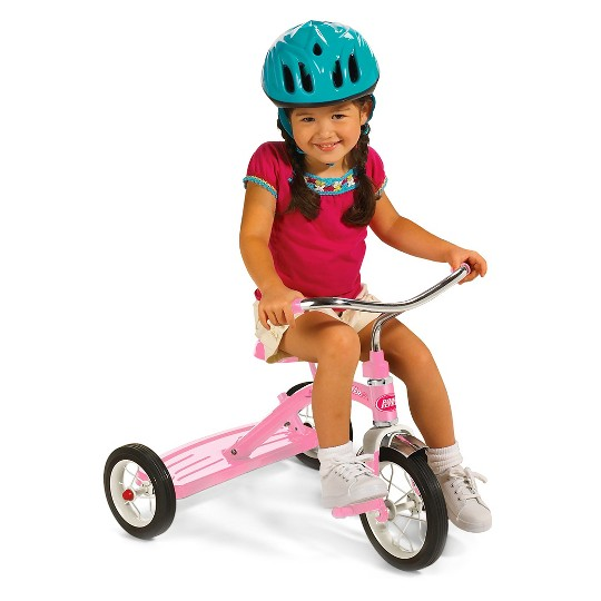 "Radio Flyer 10"" Classic Tricycle - Pink, Girl's image number null"