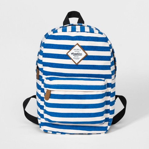 0167a99b643c Boys  Striped Backpack - Cat   Jack™ Blue   Target