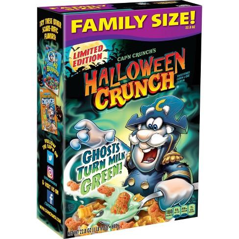 Halloween Crunch 2020 Cap'n Crunch's Halloween Crunch Breakfast Cereal   22.8oz : Target