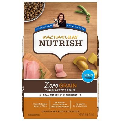 Rachael Ray Nutrish Zero Grain Turkey and Potato Dry Dog Food