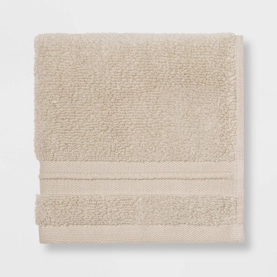 Spa Washcloth Light Taupe - Threshold Signature™