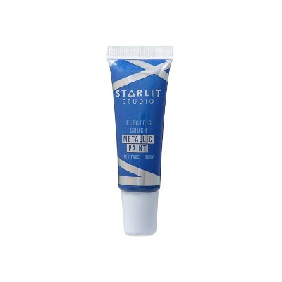 Starlit Studio Electric Shock Metallic Art Paint - Sapphire - 0.34 fl oz