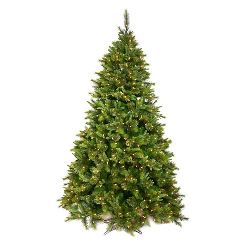 5.5ft Pre-Lit LED Artificial Christmas Tree Cashmere Pine - Multicolored Lights - image 1 of 1