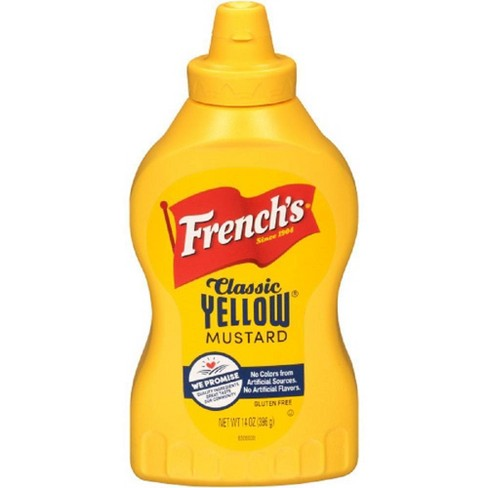 French's Classic Yellow Mustard 14oz - image 1 of 4