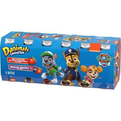 Danimals Soaring Strawberry & Brave Berry Kids' Yogurt Drinks - 3.1 fl oz/12ct