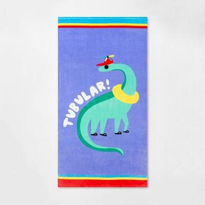 Tubular Dino Beach Towel - Sun Squad™