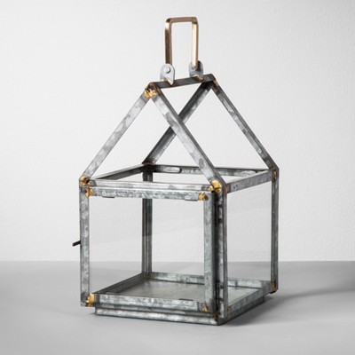 Galvanized House Lantern Small - Hearth & Hand™ with Magnolia