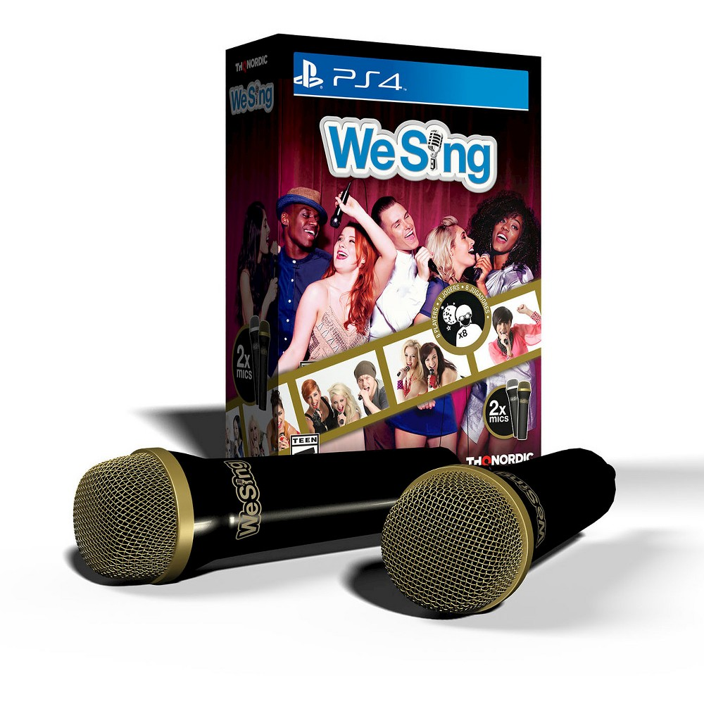 We Sing Bundle with 2 Microphones PlayStation 4