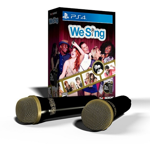 We Sing Bundle with 2 Microphones PlayStation 4 - image 1 of 1