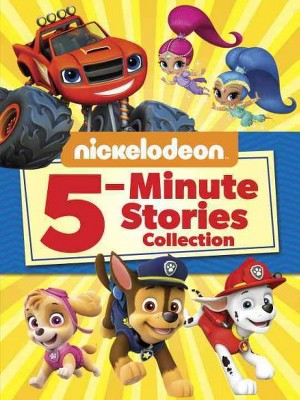 Nickelodeon 5-Minute Stories Collection - by Mary Tillworth (Hardcover)