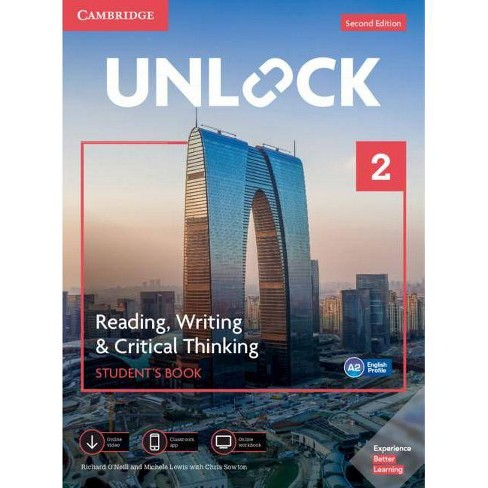 Unlock Level 2 Reading, Writing, & Critical Thinking Student's Book, Mob App and Online Workbook W/ Downloadable Video - 2nd Edition - image 1 of 1