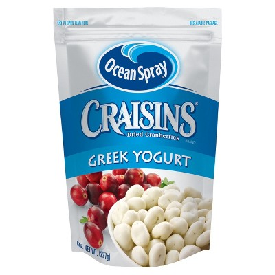 Dried Fruit & Raisins: Ocean Spray Greek Yogurt Craisins