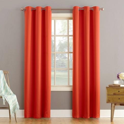 Lazlo Room Darkening Grommet Curtain Panel - Sun Zero - image 1 of 4