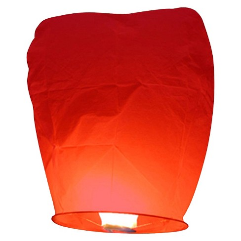 Sky Lanterns - Red (4 ct) - image 1 of 4