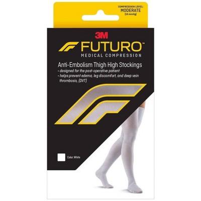 FUTURO Anti-Embolism Thigh High Length Stockings
