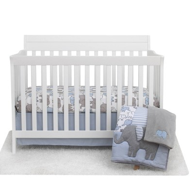 Elephant Crib Bedding Set - Just One You® made by carter's - Blue 4pc