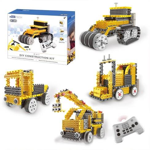 Vivitar KidsTech DIY 4 in 1 Construction Vehicle Kit - image 1 of 4