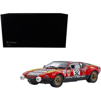 De Tomaso Pantera #32 Jean-Marie Jacquemin - Yves Deprez 24H of Le Mans (1972) 1/18 Diecast Model Car by Kyosho