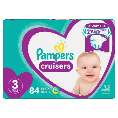 Pampers Cruisers Diapers Super Pack (Select Size) - image 1 of 7