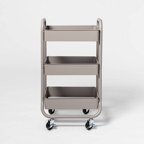 3-Tier Metal Utility Cart - Made By Design™ - image 1 of 4