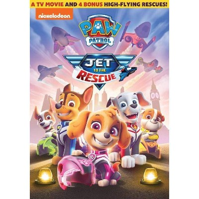 PAW Patrol: Jet to the Rescue (DVD)