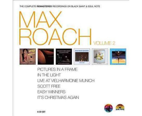 Max Roach - Max Roach:Comp/Remas/V2 (CD) - image 1 of 1