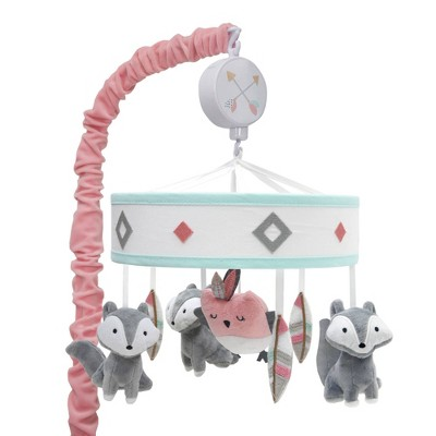 Lambs & Ivy Little Spirit Musical Baby Crib Mobile