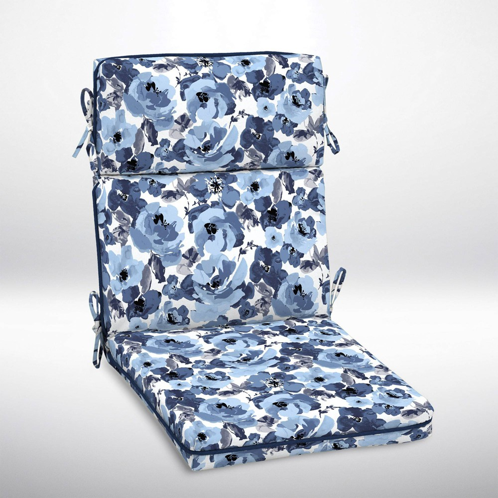 Miraculous Garden Delight High Back Welt Outdoor Chair Cushion Arden Machost Co Dining Chair Design Ideas Machostcouk