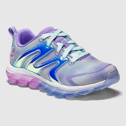 skechers running shoes for girls purple