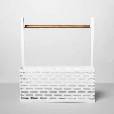 Punched Metal Over the Door Organizer - Made By Design™