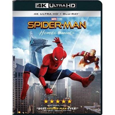 Spider-Man Homecoming (4K/UHD + Blu-Ray + Digital)