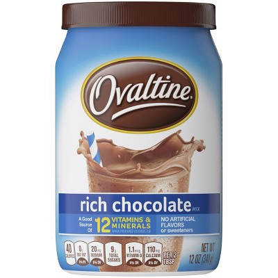 Ovaltine Rich Chocolate Mix - 12oz