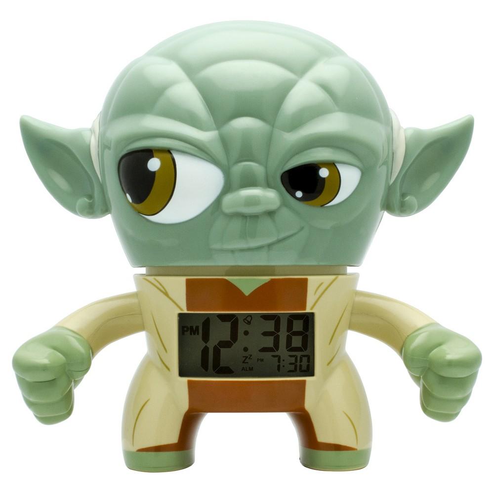 Star Wars Yoda Clock - BulbBotz, Green