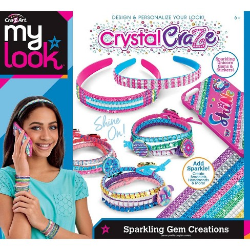 My Look Crystal Craze Sparkling Gem Creations by Cra-Z-Art - image 1 of 1