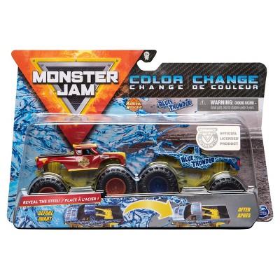 Monster Jam Blue Thunder 1:64 Scale - 2pk