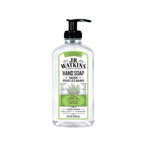 J.R. Watkins Aloe & Green Tea Liquid Hand Soap - 11oz - image 1 of 3