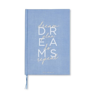 Hard Cover Lined Journal Blue - West Emory