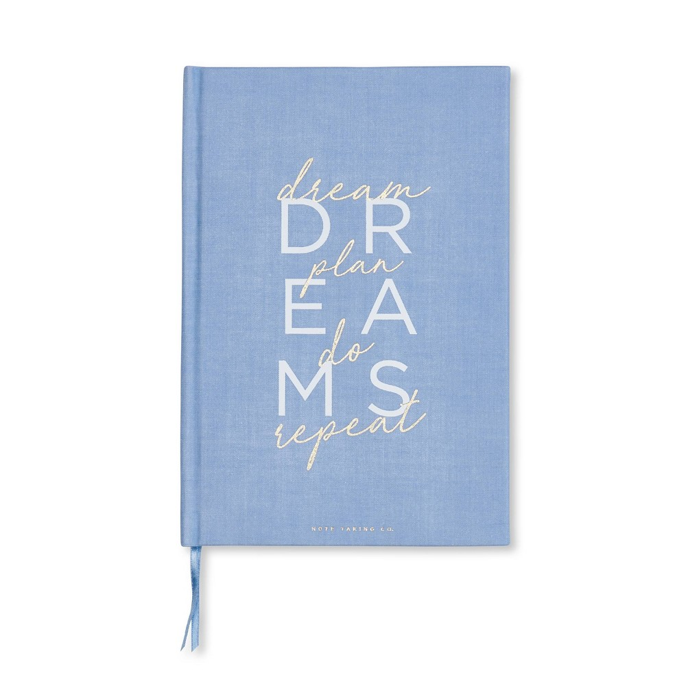 Image of Hard Cover Lined Journal Blue - West Emory